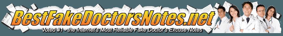 BestFakeDoctorsNotes.net